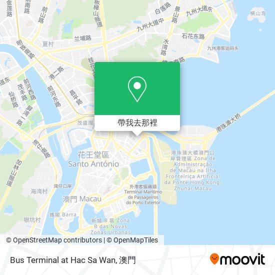 Bus Terminal at Hac Sa Wan地圖