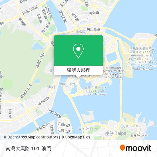 南灣大馬路 101地圖
