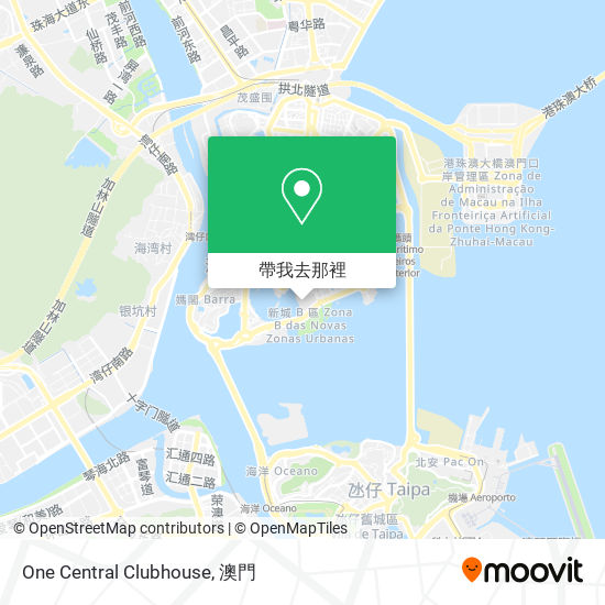 One Central Clubhouse地圖