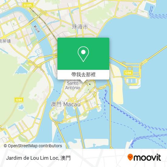 Jardim de Lou Lim Loc地圖
