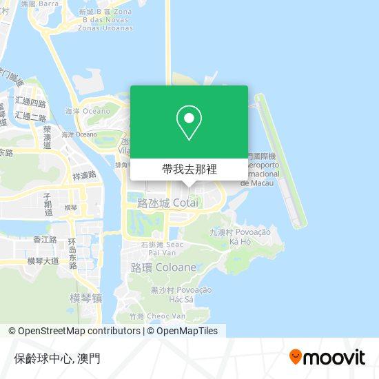 保齡球中心地圖