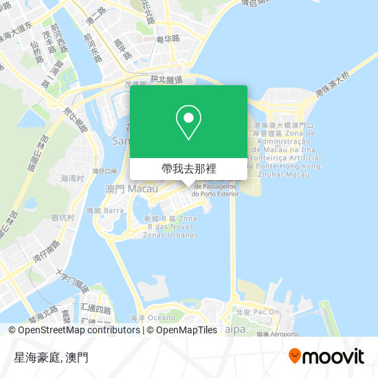 星海豪庭地圖