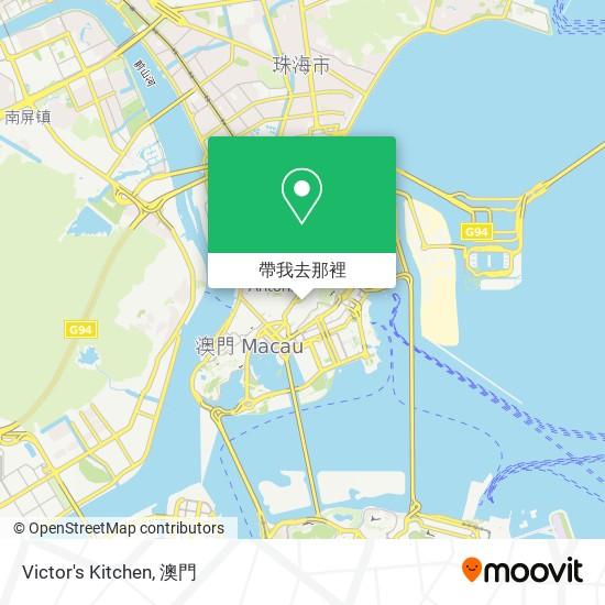 Victor's Kitchen地圖