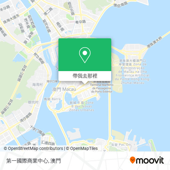 第一國際商業中心地圖