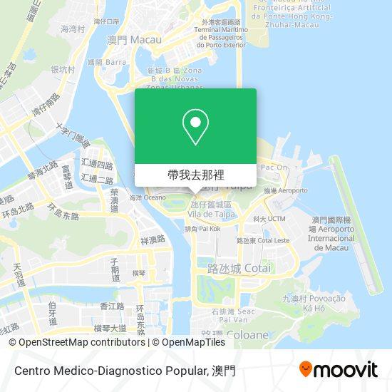 Centro Medico-Diagnostico Popular地圖