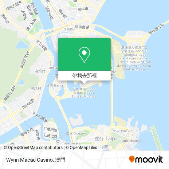 Wynn Macau Casino地圖