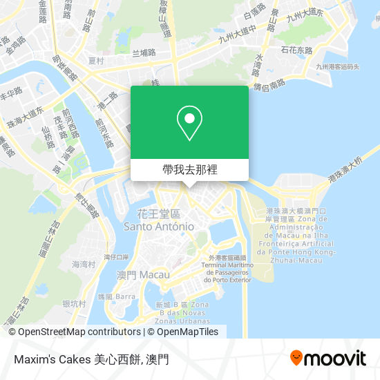 Maxim's Cakes 美心西餅地圖