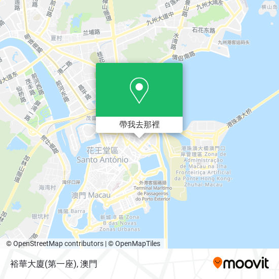 裕華大廈(第一座)地圖