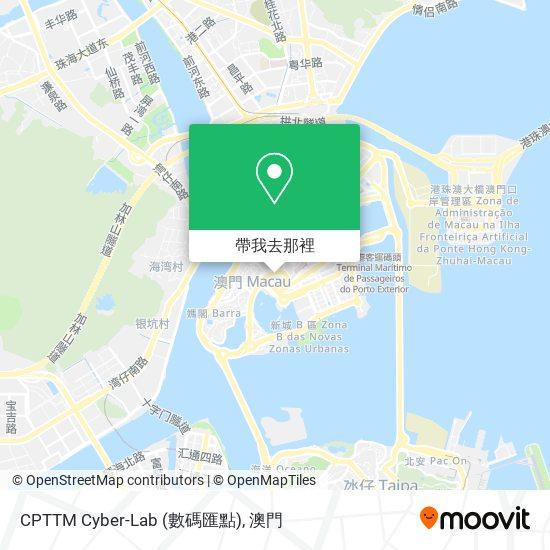 CPTTM Cyber-Lab (數碼匯點)地圖