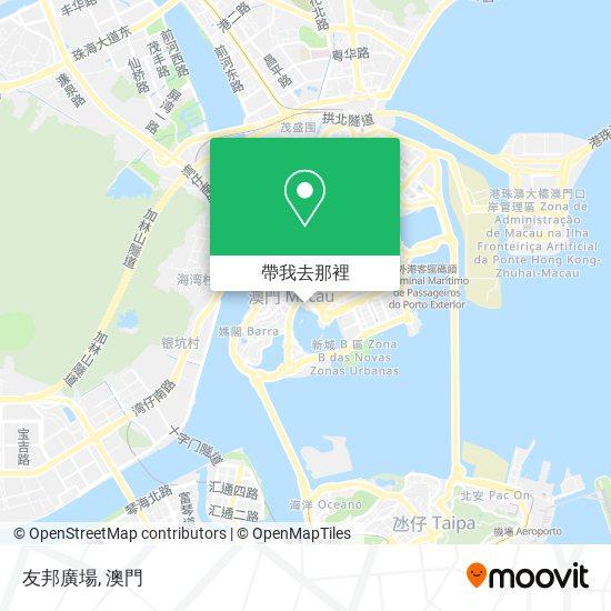 友邦廣場地圖