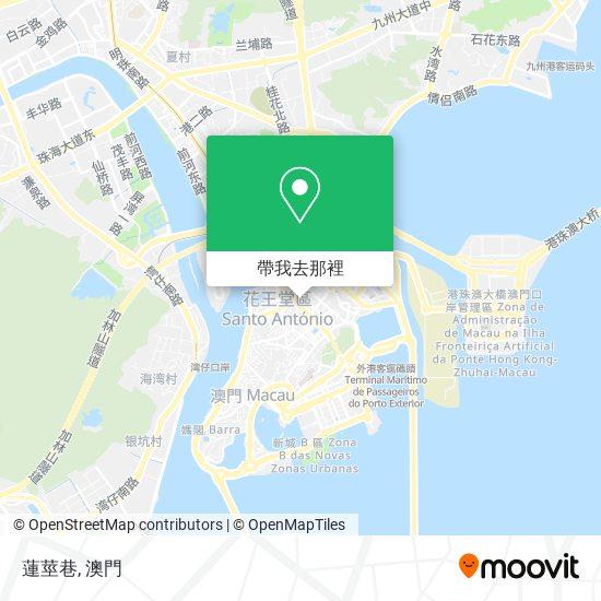 蓮莖巷地圖