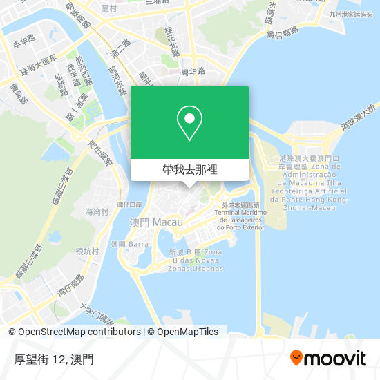 厚望街 12地圖