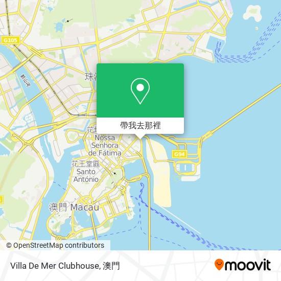Villa De Mer Clubhouse地圖