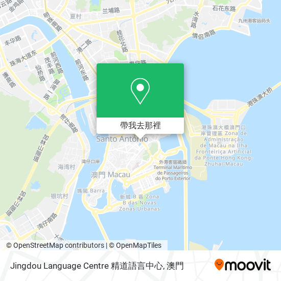 Jingdou Language Centre 精道語言中心地圖