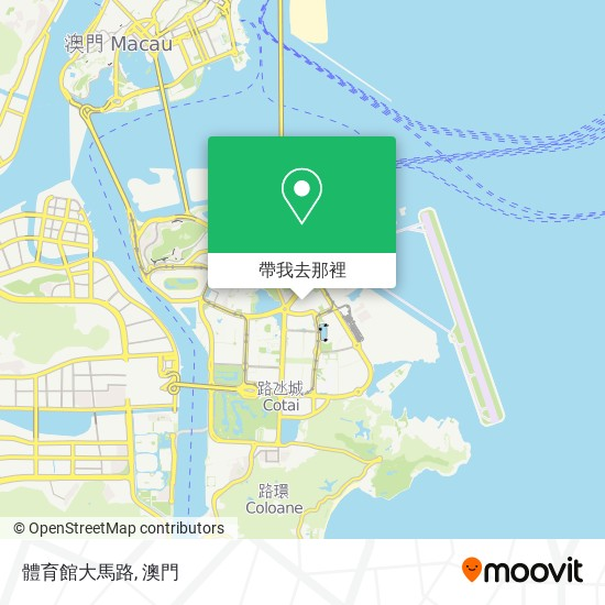 體育館大馬路地圖