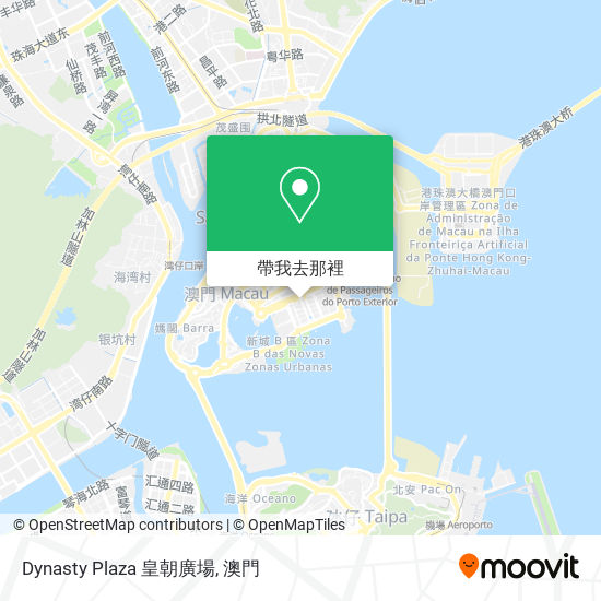 Dynasty Plaza 皇朝廣場地圖