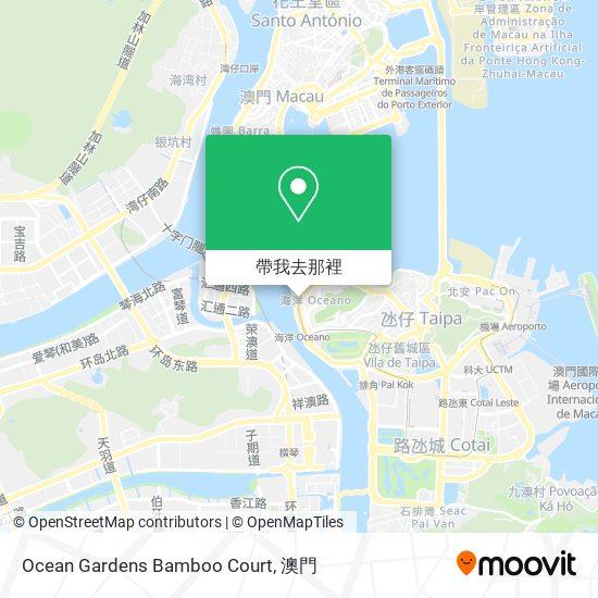 Ocean Gardens Bamboo Court地圖