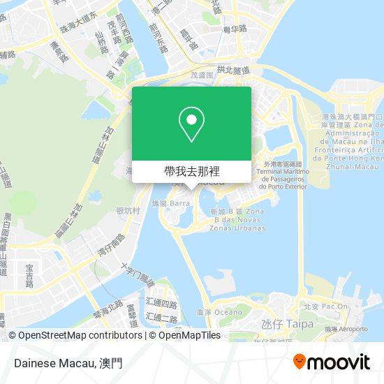 Dainese Macau地圖
