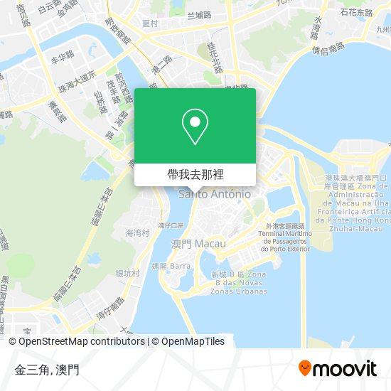 金三角地圖
