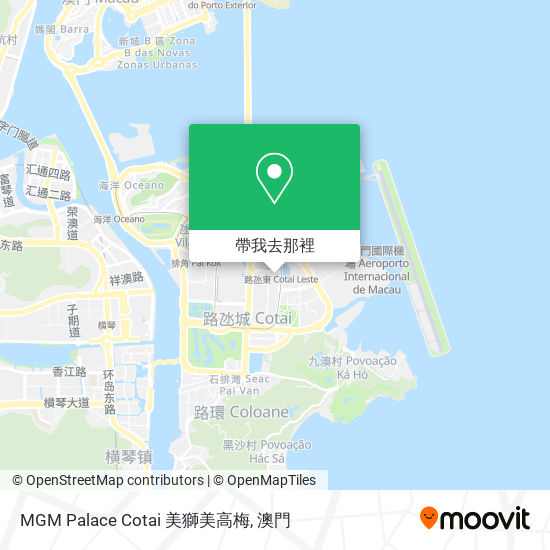 MGM Palace Cotai 美獅美高梅地圖