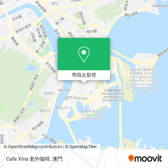 Cafe Xina 老外咖啡地圖