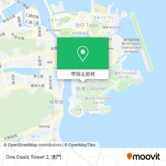 One  Oasis Tower 2地圖