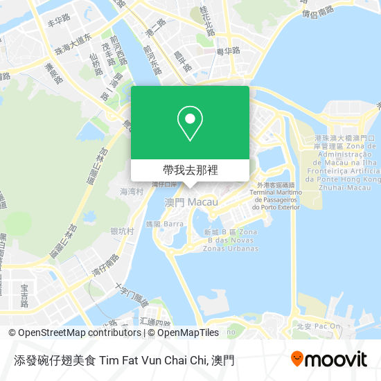 添發碗仔翅美食 Tim Fat Vun Chai Chi地圖