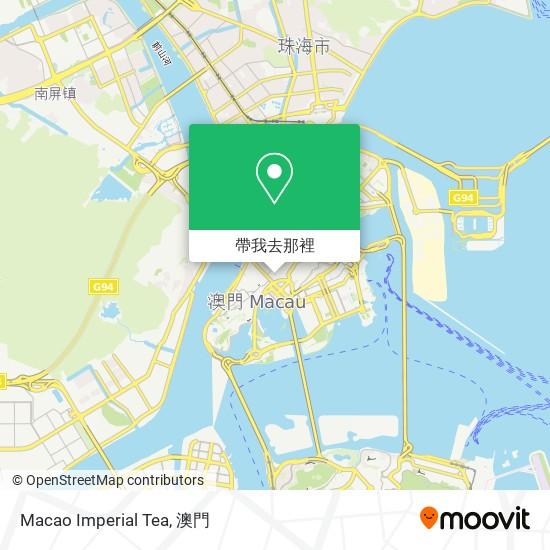 Macao Imperial Tea地圖