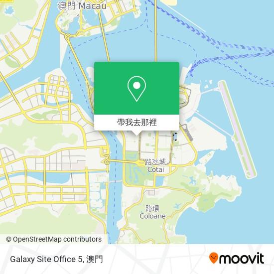Galaxy Site Office 5地圖