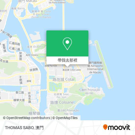 THOMAS SABO地圖