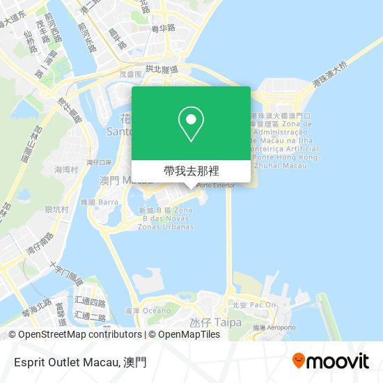 Esprit Outlet Macau地圖