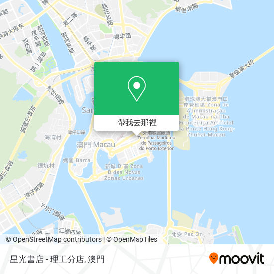 星光書店 - 理工分店地圖