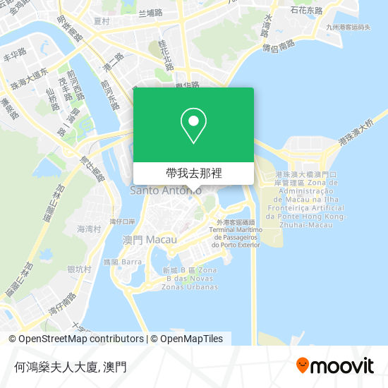 何鴻燊夫人大廈地圖