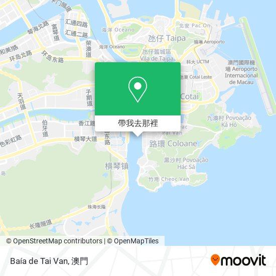 Baía de Tai Van地圖
