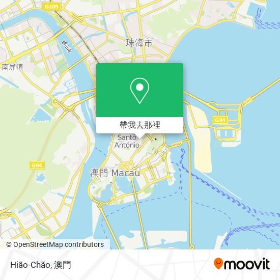 Hião-Chão地圖