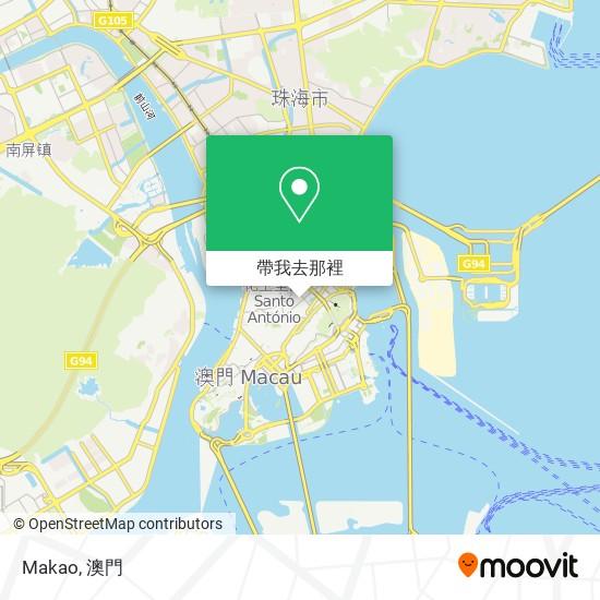 Makao地圖