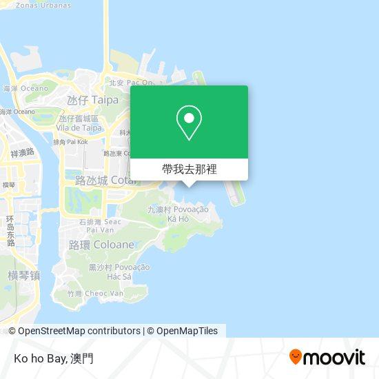 Ko ho Bay地圖