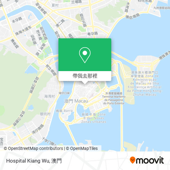 Hospital Kiang Wu地圖