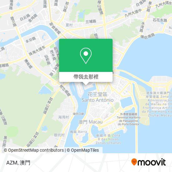 AZM地圖