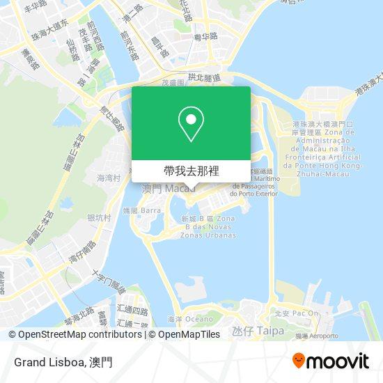 Grand Lisboa地圖