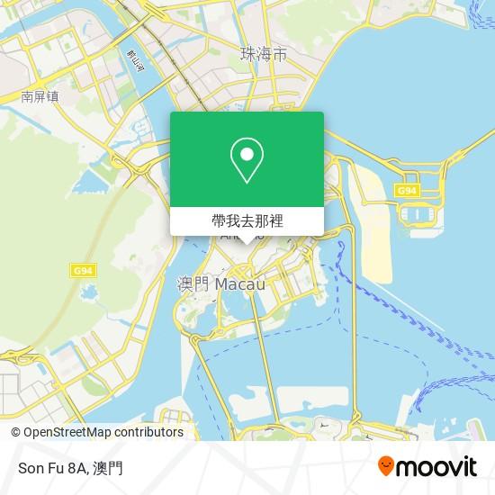 Son Fu 8A地圖