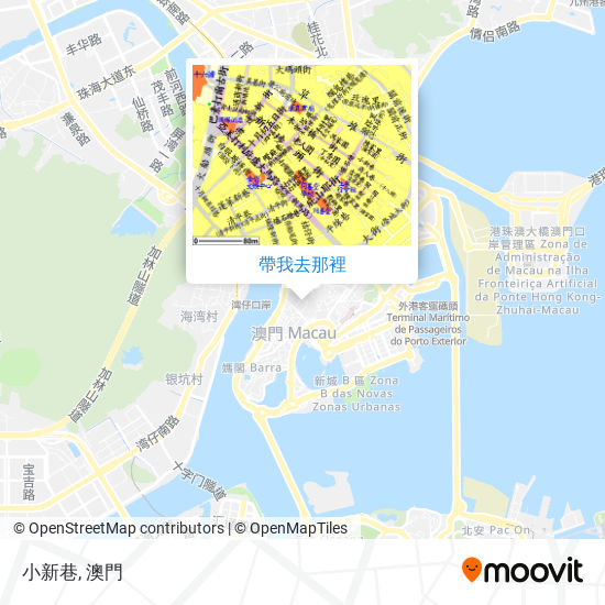 小新巷地圖