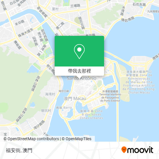 福安街地圖