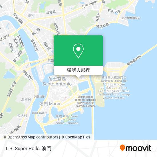 L.B. Super Pollo地圖