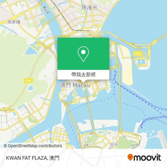 KWAN FAT FLAZA地圖