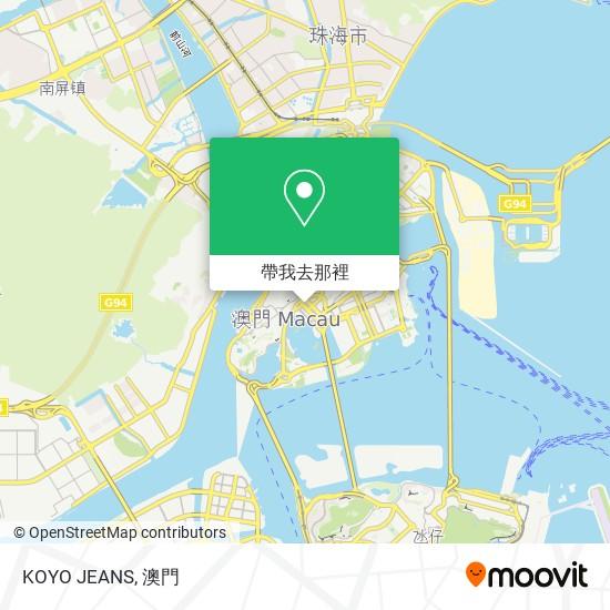 KOYO JEANS地圖
