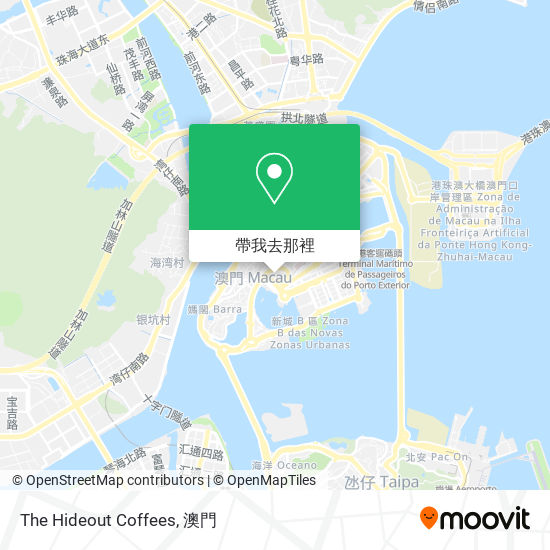 The Hideout Coffees地圖