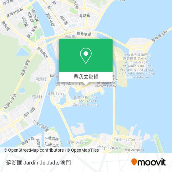 蘇浙匯 Jardin de Jade地圖