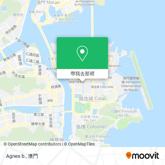 Agnes b.地圖
