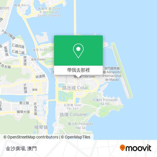 金沙廣場地圖